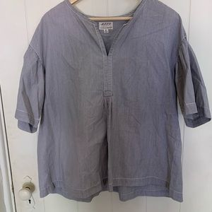 Max Studio pinstripe blouse